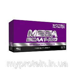 Scitec Nutrition Бца Скайтек Mega BCAA 1400 (120 caps)