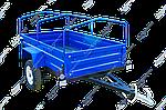 Причіп автомобільний PRU22 (1,0-50) 1300 х 2250 мм ресора АЛКО Волга