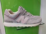 Женские кроссовки New balance 574 Grey, фото 4