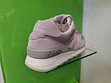 Женские кроссовки New balance 574 Grey, фото 5