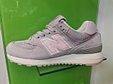 Женские кроссовки New balance 574 Grey, фото 7