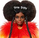 Лялька Барбі Екстра Модниця в Райдужному пальто Barbie Extra Doll # 1 GVR04, фото 5