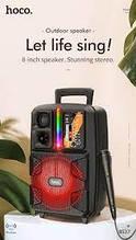 Портативная колонка HOCO BS37 Dancer outdoor wireless speaker \ black
