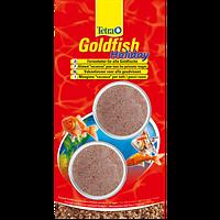 Корм для аквариумных рыб Tetra Gold fish Holiday 2х12гр Корм на время отпуска для золотых рыбок