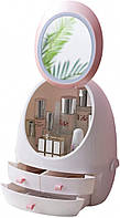 Органайзер для Косметики с Сенсорным Зеркалом и LED подсветкой USB, фото 1