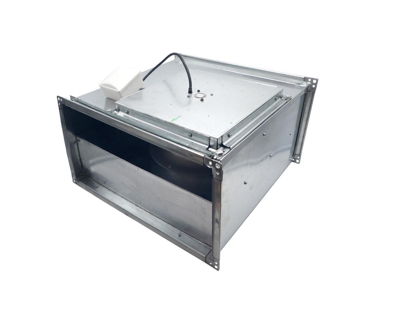 Прямокутний канальний вентилятор для прямокутних каналів ВКПН 4Е 800x500