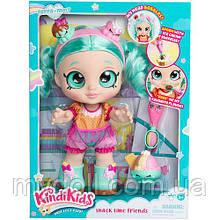 "Лялька Кінді Кидс Пеппа Мінт - Кінді Kids ""Snack Time Friends"" Peppa-Mint - Moose 50007"