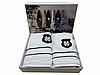 Набор полотенец Maison D'or Alain White махровые 30-50 см,50-100 см,70-140 см белый