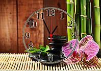 "Часы настенные стеклянные ""Spa & Relaxation"", фото 1"