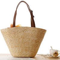 Заказ от 1000 грн, Женская соломенная сумка FS-3730-16, фото 1