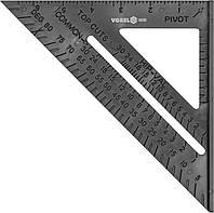 Уголок плотницкий Vorel пластиковый, 180мм