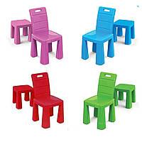 Стульчик 2в1 для детей от ТМ Долони, стул пластиковый, детский, цвета в ассортименте