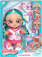 "Кукла Кинди Кидс доктор Синди Попс - Kindi Kids ""Fun Time Friends"" Dr Cindy Pops - Moose 50036"