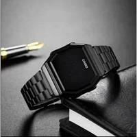 Стильные часы Casio G-Shock, черные мужские часы, наручные, электронные. Отличный подарок!