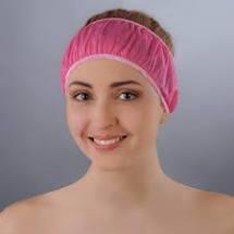 Пов'язка для волосся одноразова волошкова Doily, 10 шт.