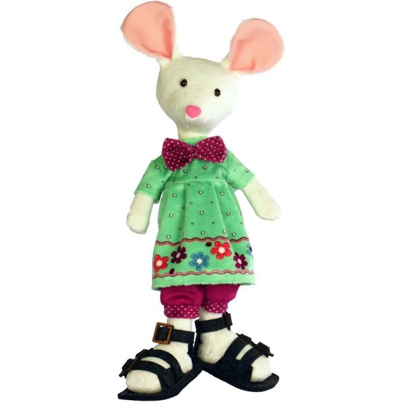 """Набір для шиття м'яких якої іграшки """"Біла мишка"""""""