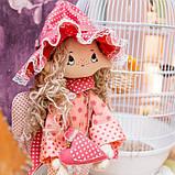 """Набір для шиття інтер'єрної каркасної ляльки """"Ангелок"""", фото 4"""