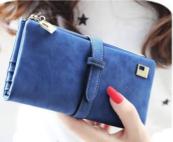 Красивий жіночий гаманець FRIEND з нубука. Жіночий клатч. Портмоне нубук . СК11
