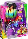 Лялька Барбі Екстра Модниця в Райдужному пальто Barbie Extra Doll # 1 GVR04, фото 2