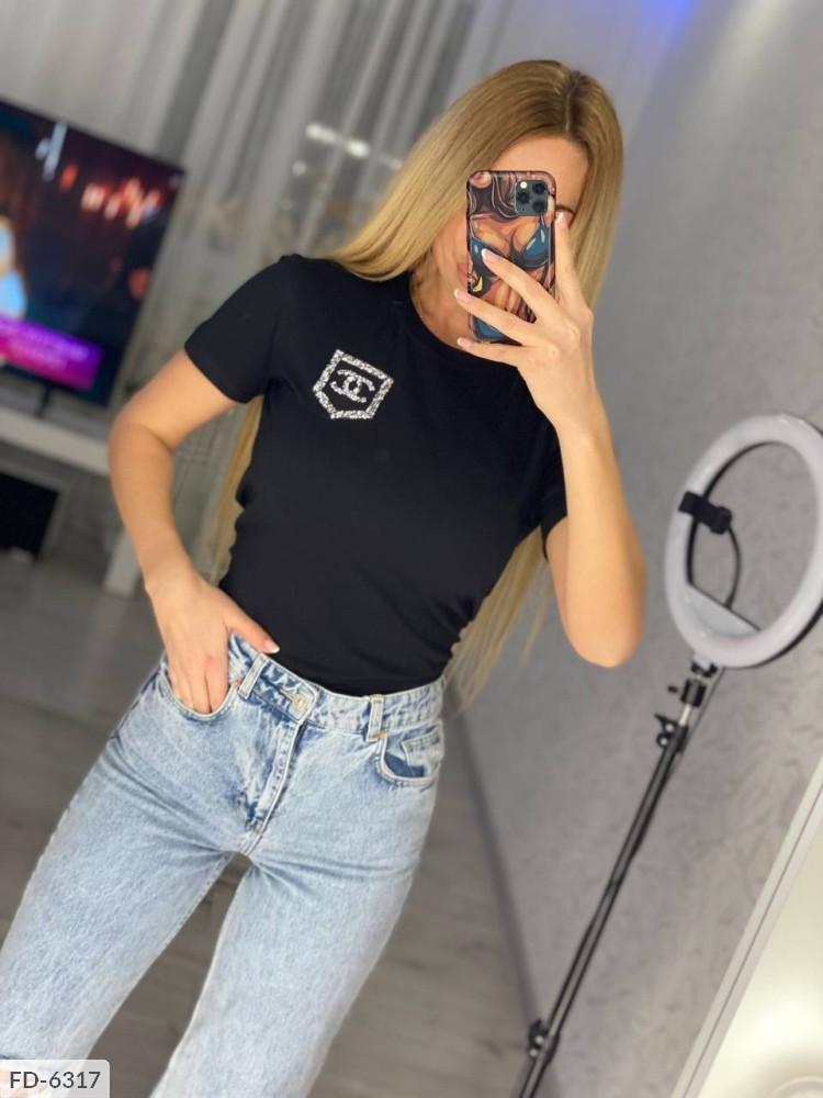 Женская футболка   Размеры: 42-46