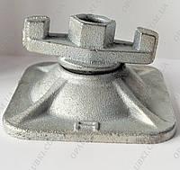 Опорная гайка DW15 для щитов опалубки (шарнирная плита)