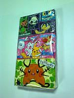 Японские сухие салфетки 60шт (персонажи аниме HEROMARON DEDENNE)