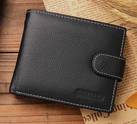 Чоловічий шкіряний гаманець . Шкіряне портмоне.Натуральна шкіра ЕК20
