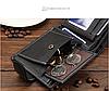 Чоловічий шкіряний гаманець . Шкіряне портмоне.Натуральна шкіра ЕК20, фото 4