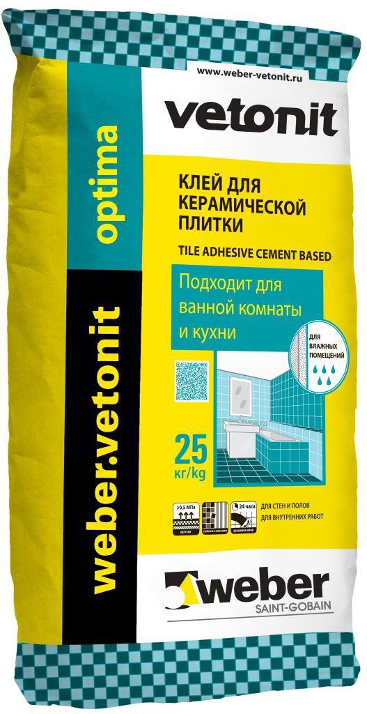 Weber.vetonit OPTIMA (мешок - 25 кг)