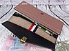 Жіноче портмоне клатч на ланцюжку. довгий рожевий гаманець. жіночий гаманець. К2, фото 2