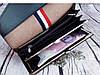 Жіноче портмоне клатч на ланцюжку. довгий рожевий гаманець. жіночий гаманець. К2, фото 4