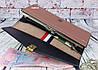 Жіноче портмоне клатч на ланцюжку. довгий рожевий гаманець. жіночий гаманець. К2, фото 5