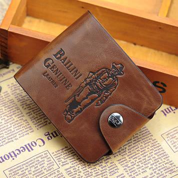 Кожаный мужской кошелек, портмоне, бумажник  .ЕК79-1