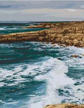 Картина за номерами. Узбережжя Пафос. Кіпр