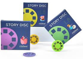 Набор дисков номер 2 со сказками для проекторов и фонариков Mideer