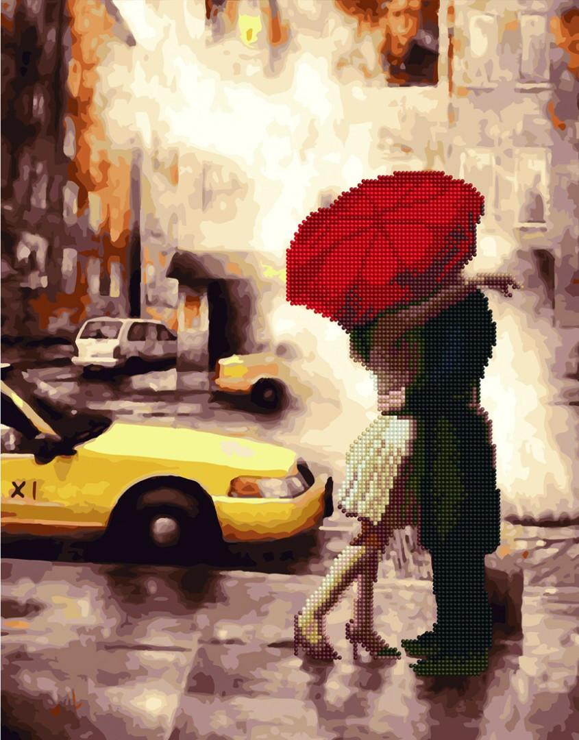 Алмазные картины-раскраски - Любовь в большом городе