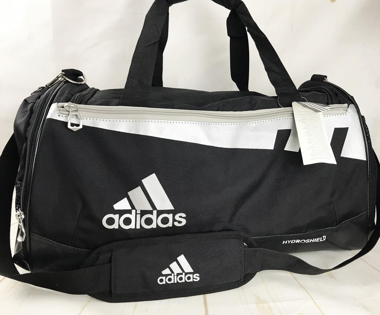 Спортивная сумка Adidas с отделом для обуви.Сумка для тренировок ,в спортзал.Дорожная сумка КСС14-2
