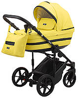 Детская коляска 2 в 1 Adamex Rimini ECO кожа 100% RI-234, фото 1