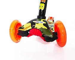 Самокат трехколёсный Scooter с принтом, фото 3