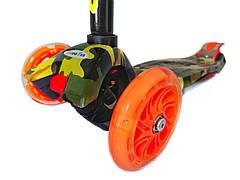 Самокат трехколёсный Scooter с принтом, фото 2
