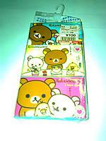 Японские сухие салфетки 60 шт (персонажи аниме RILAKKUMA)
