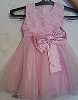 Прокат платья с болеро для девочки 4-5-6 лет возможно с туфлями