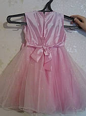 Прокат платья с болеро для девочки 4-5-6 лет возможно с туфлями, фото 2
