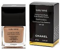 Тональный крем для лица Chanel Sublimine (Шанель Саблимайн) в наличии 101,102,104,105 тон