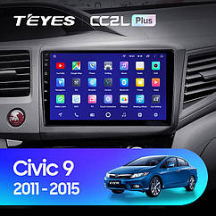 Штатная магнитола Teyes Honda Civic (2011-2015) Android