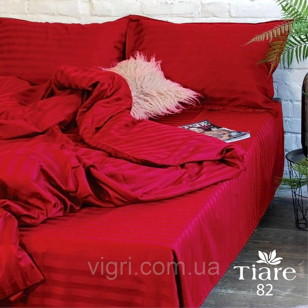 """Постільна білизна, євро комплект, сатин страйп """"Stripe"""", Вилюта «Viluta» VSS 82"""