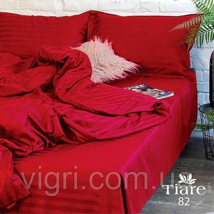 """Постільна білизна, євро комплект, сатин страйп """"Stripe"""", Вилюта «Viluta» VSS 82, фото 2"""