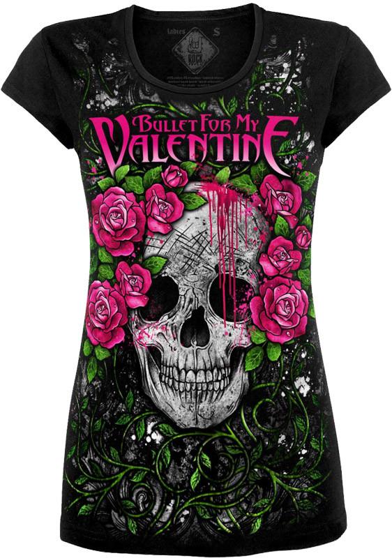 Туніка Bullet For My Valentine (skull)