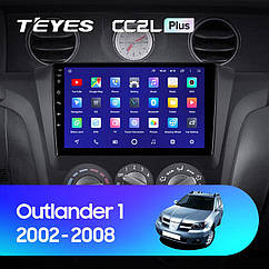 Штатная магнитола Teyes  Mitsubishi Outlander1 (2002-2008) Android