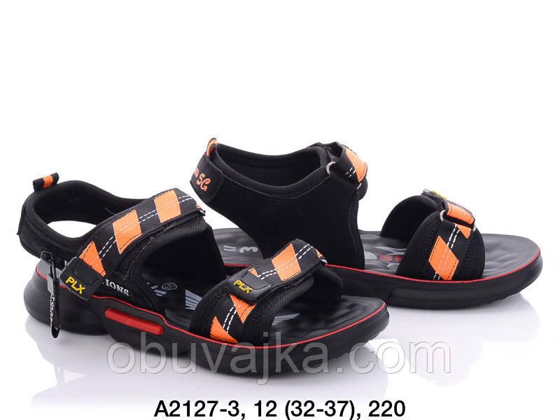 Детская летняя обувь 2021 оптом. Детские босоножки бренда  MLV для мальчиков (рр. с 32 по 37)